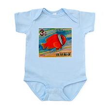 Ryukyu Islands 1966 Clownfish Postage Stamp Infant