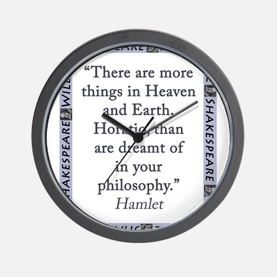 There Are More Things In Heaven and Earth Wall Clo