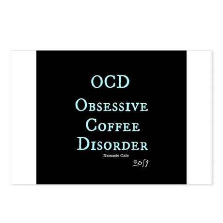 OCD: Obsessive Coffee Disorder Postcards (Package