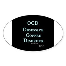 OCD: Obsessive Coffee Disorder Decal