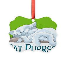 Cat Purrson Ornament