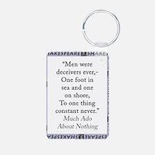 Men Were Deceivers Ever Keychains