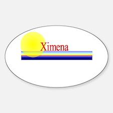 Ximena Oval Decal