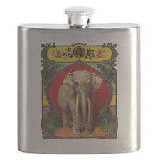 White Elephant Flask