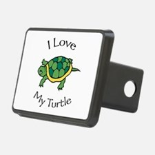 I Love My Turtle Hitch Cover