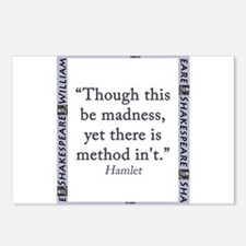Though This Be Madness Postcards (Package of 8)