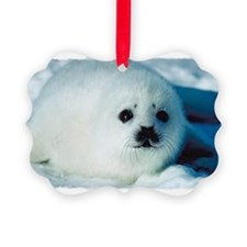 Baby Seal Ornament