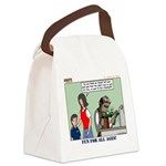 Car Race Canvas Lunch Bag