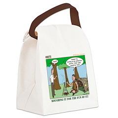 Wilderness Survival Canvas Lunch Bag