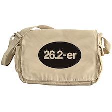 26.2-er or Marathoner Messenger Bag