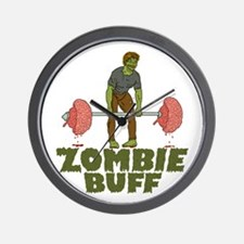 Zombie Buff Wall Clock