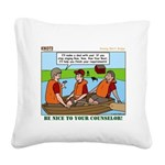 Rowing Square Canvas Pillow