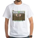 Coin Collecting White T-Shirt
