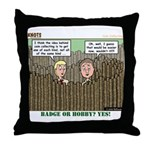 Coin Collecting Throw Pillow