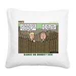 Coin Collecting Square Canvas Pillow