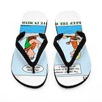 Canoeing Flip Flops