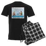Canoeing Men's Dark Pajamas