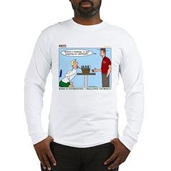 Basket Weaving Long Sleeve T-Shirt