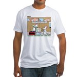 Animal Science Fitted T-Shirt