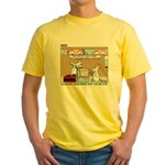 Animal Science Yellow T-Shirt
