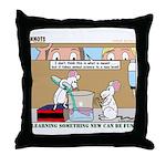 Animal Science Throw Pillow