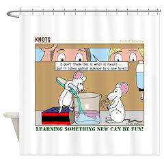 Animal Science Shower Curtain
