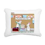 Animal Science Rectangular Canvas Pillow