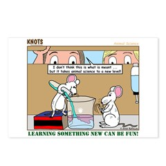 Animal Science Postcards (Package of 8)