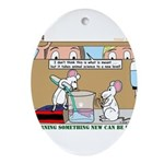 Animal Science Ornament (Oval)
