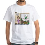 Meetings White T-Shirt