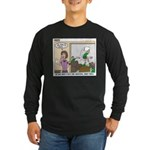 Meetings Long Sleeve Dark T-Shirt