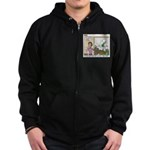 Meetings Zip Hoodie (dark)