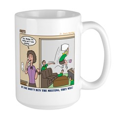 Meetings Large Mug
