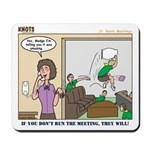 Meetings Mousepad