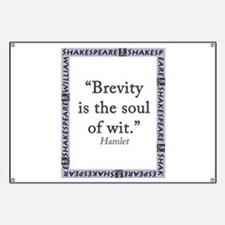 Brevity Is the Soul of Wit Banner