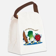 Let's Go to the Market! Canvas Lunch Bag