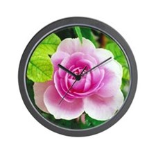 Cute Rose Wall Clock