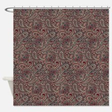 Exotic Pattern Shower Curtain
