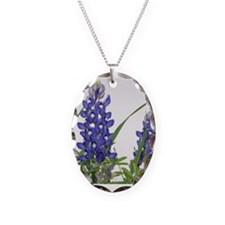 Cute Bluebonnets Necklace