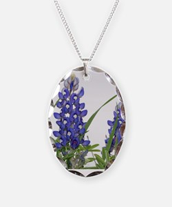 Cute Bluebonnet Necklace