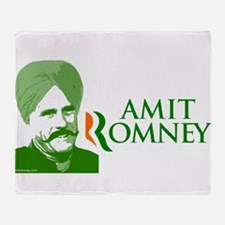 Amit Romney for President Throw Blanket