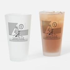 Near Side: High Strung Drinking Glass