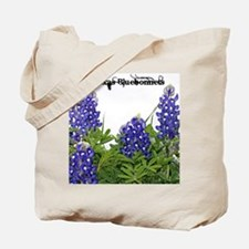 Unique Bluebonnet Tote Bag