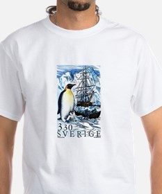 1989 Sweden Emperor Penguins Postage Stamp Shirt