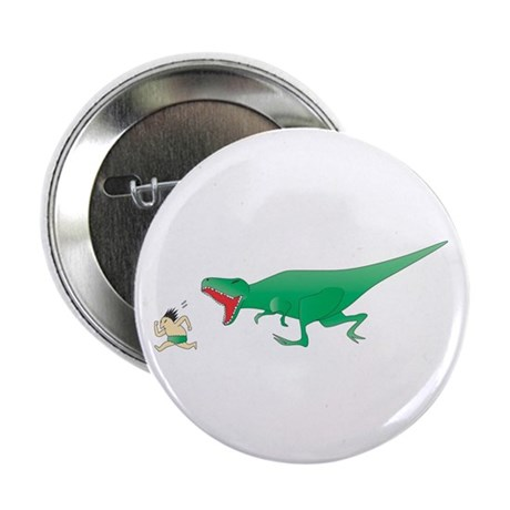 "Dinosaur Chase 2.25"" Button (10 pack)"