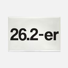 26.2-er or Marathoner Rectangle Magnet (10 pack)