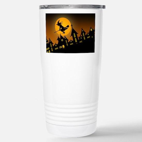 Spooky Halloween 2 Stainless Steel Travel Mug