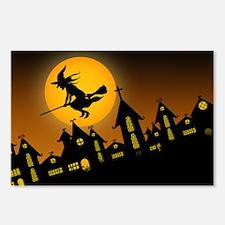 Spooky Halloween 2 Postcards (Package of 8)