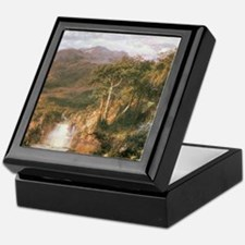Frederic Edwin Church Heart Of Andes Keepsake Box