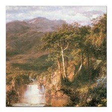 Frederic Edwin Church Heart Of Andes Square Car Ma